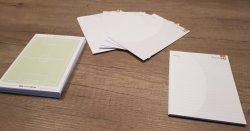 Wedstrijdkaartjes A6 - 40 stuks