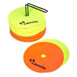 Floormarker Platte Pylon (Cawila) - 24 stuks