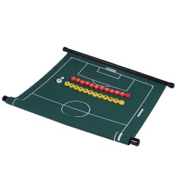 Oprolbaar groen coachbord (inclusief magneten)