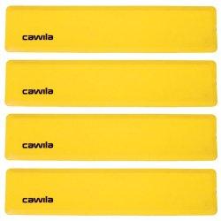 Floormarker Rechthoek (Cawila) - Set van 4