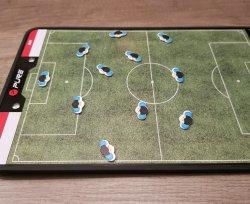 SpelersMagneten Klein Blauw - 12 stuks