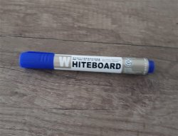 Whiteboard Stift Blauw
