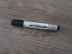 Whiteboard Stift Zwart