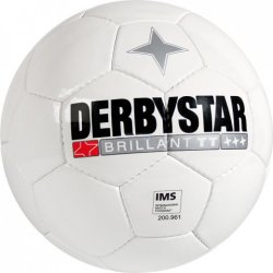 DerbyStar Brillant TT Voetbal - Maat 5 - Wit