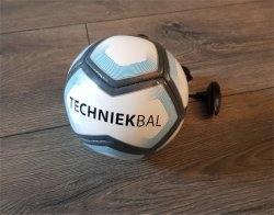 Techniekbal aan koord | Mini Soccer Bal | Blauw