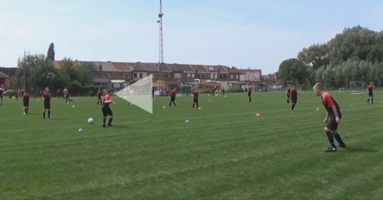 Oefenstof special: Het scannen van de voetbalomgeving